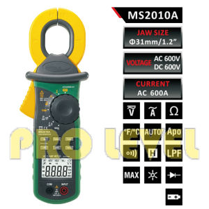 High Sensitivity AC Leakage Clamp Meter (MS2010A) pictures & photos