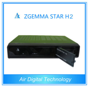 Zgemma-Star H2 Combo DVB-S2+T2/C Satellite Receiver with Internet Connection pictures & photos