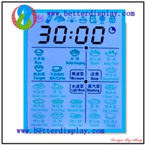 FSTN Graphic LCD Display with Blue Backlight pictures & photos