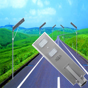 30W 60W 80wall in One/Integrated LED Solar Power Energy Road Street Light Lighting Lamp pictures & photos