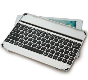 Ultra - Thin Aluminum Alloy Wireless Bluetooth Keyboard for iPad pictures & photos