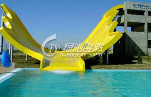 U Waving Water Slide, Water Park Equipment in Fiberglass pictures & photos