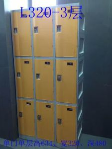 3 Doors Chaning Room ABS Plastic Locker pictures & photos