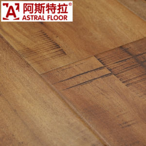 Astral German Techonoligy Silk Surface (U-Groove) Laminate Flooring (AS0008-9) pictures & photos