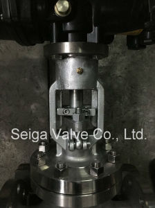 Stainless Steel Flange Globe Valve pictures & photos