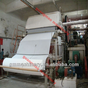 Jumbo Toilet Paper Making Machine, Waste Paper Recycling Machine pictures & photos
