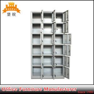 18 Door Steel Wardrobe Metal Shoe Lockers pictures & photos
