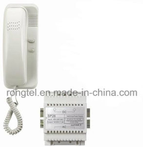 White Indoor Monitor for Villa Intercom System pictures & photos