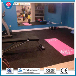 Crossfit Interlocking Rubber Flooring/Weight Room Gym Flooring pictures & photos