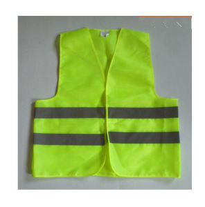 Green High Visibility Reflective for Worker Safety Waistcoat Vest pictures & photos