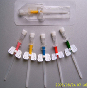 IV Cathether / IV Cannula Interavenous with Injection Port and Wings pictures & photos