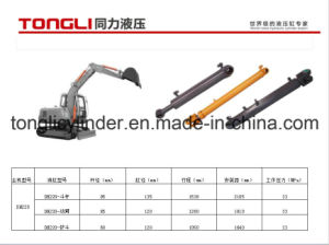 Dh220 Hydraulic Bucket Cylinder for Doosan Excavator pictures & photos