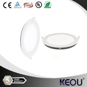 Circular Dimmable LED Recessed 18W/18watt Panel Light pictures & photos