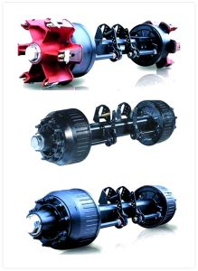 OEM BPW Germany Type Truck Trailer Axle pictures & photos