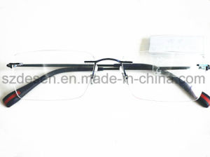 Custom Portable Rimless Stainless Steel Eyewear Frames for Male pictures & photos