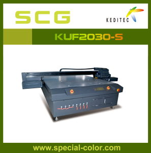 China 3.0X2.0 Printing Width UV Flatbed Printer Kuf2030-S pictures & photos