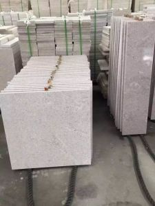 China Granite Pearl White Slab/ Worktop/Tile/Flooring/Wall Cladding pictures & photos