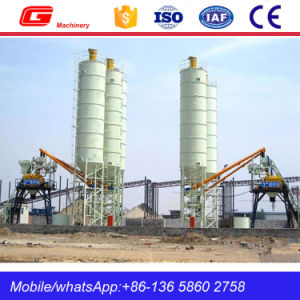High Quality Stationary Concrete Batching Plant Made in China (HZS40) pictures & photos