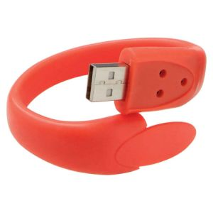 OEM New Design USB Silicon Wristband pictures & photos