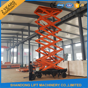 Aerial Hydraulic Vertical Work Platform Street Light Lift for Maintance pictures & photos