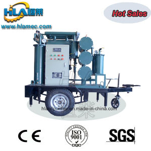 Mobile Trailer Type Double Vacuum Used Insulating Oil Purifier Device pictures & photos