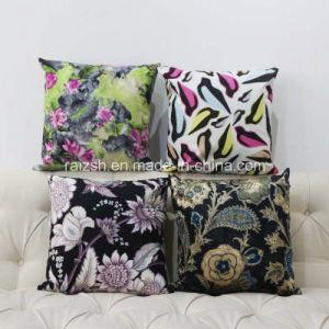 Pillow Printing High-Grade Short Plush Sofa Cushion Customized Gifts