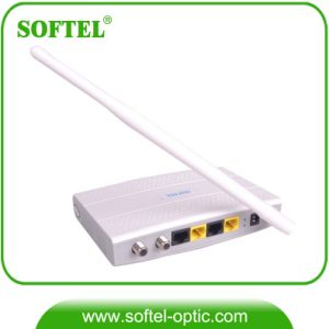 Ethernet Over Coaxial Cable System Eoc Slave Modem with WiFi pictures & photos