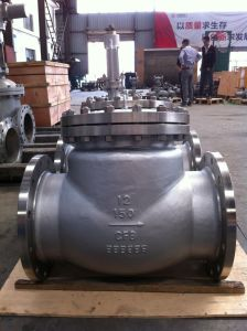 "Swing Check Valve Flanged 12"" Class 150 CF8 Body pictures & photos"