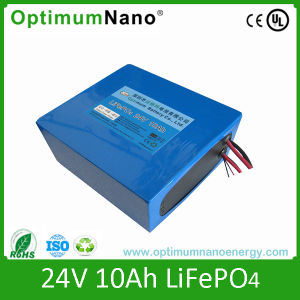 LiFePO4 24V 10ah Aluminum Case Electric Bicycle Battery pictures & photos