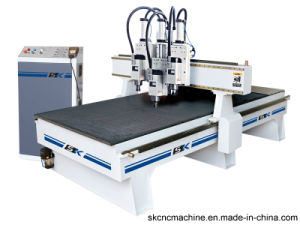 Newly Design Vacuum Wood CNC Router Machine (SK-CPG1325T)