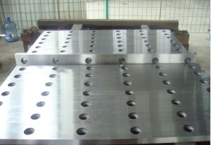 Cutting Plate Machine Blade/Metal Guillotine Working Knives for Cutting Steel Plate in Cut to Length Line pictures & photos