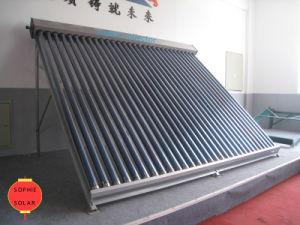 Non Pressure Vacuum Tube Solar Collector pictures & photos