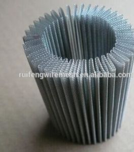 Pleated Stainless Steel Wire Mesh pictures & photos
