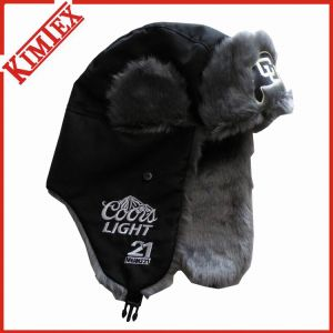 Warm Snow Fur Winter Trapper Cap for Promotion pictures & photos