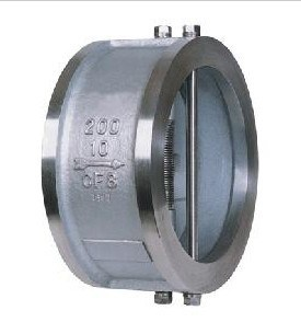 Wafer Type Dual Plate Check Valve Stainless Steel 304 Pn16 pictures & photos