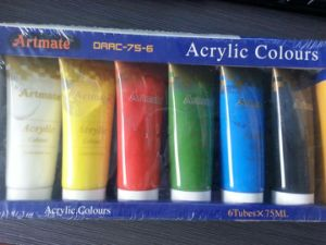 Art School Acrylic Colour Paint, Acrylic Paint Set, Acrylic Color pictures & photos