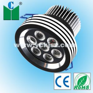 LED Ceiling Light (Black 7W)