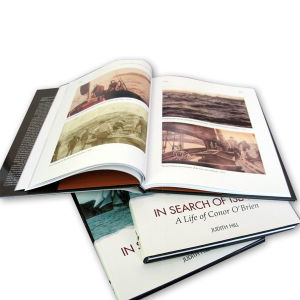 Hardcover Photo Book with Dust Jacket Printing pictures & photos