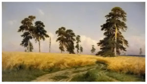 Famous Artists Oil Painting, Rye (1878 years) -Ivan Shishkin pictures & photos