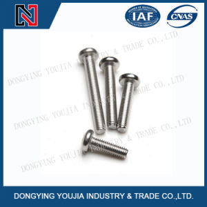 GB818 Stainless Steel Cross Recessed Pan Head Screws pictures & photos
