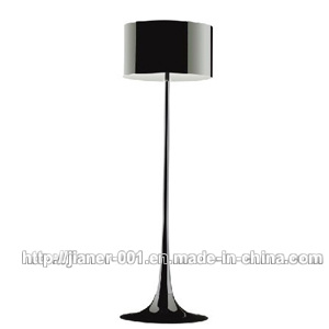 Living Room Black Contemporary Standing Floor Lamp Light Lighting with Aluminium Shade, D500. H1750mm pictures & photos