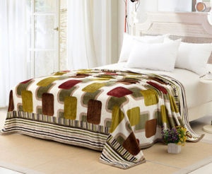 United Kingdom Wholesale 100% Polyester Printed Flannel Blanket