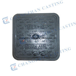 BS En124 A15 Square Ductile Iron Manhole Cover pictures & photos