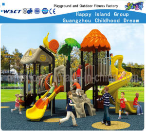 Leave Roof Feature Multifunctional Playground Sets Hf-15001 pictures & photos