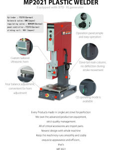 Ultrasonic Plastic Welding Machine with Adopted Accessories pictures & photos