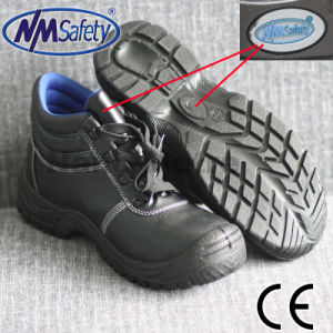 Nmsafety Fiberglass Toe Cap Safety Shoes pictures & photos