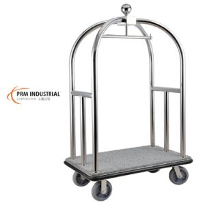 Polished or Satin Bellman Cart & Hotel Luggage Carts pictures & photos