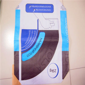 PP and Paper Valve Bag with Cement Packaging pictures & photos