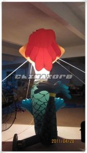 Beautiful Inflatable Lighting Mermaid Model From Guangzhou Factory pictures & photos