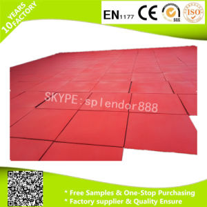 Indoor Outdoor Playground Rubber Flooring pictures & photos